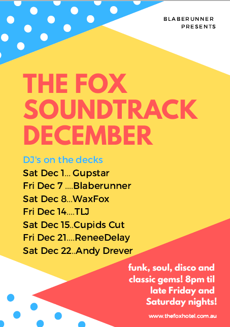 The Fox Soundtrack December