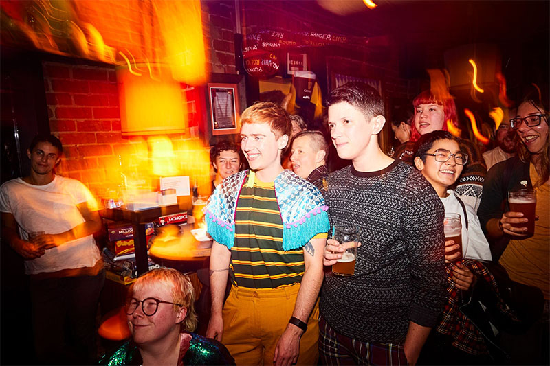 Beers For Queers at The Fox Hotel - photo by Ryan Wheatley
