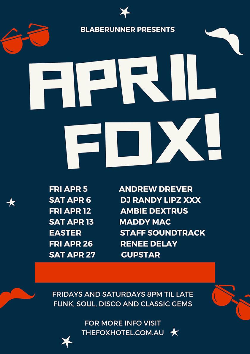 The Fox April Soundtrack poster