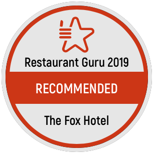Recommended by Restaurant Guru 2019