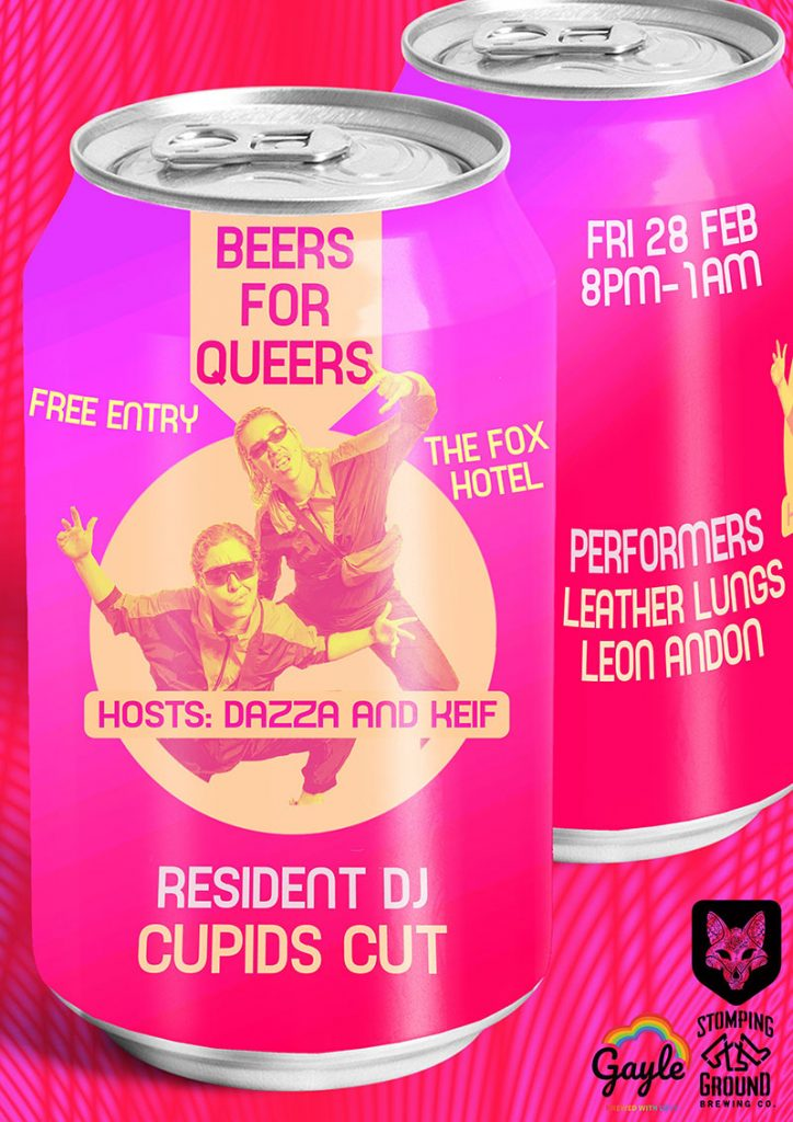 The Fox Hotel - Beers For Queers poster