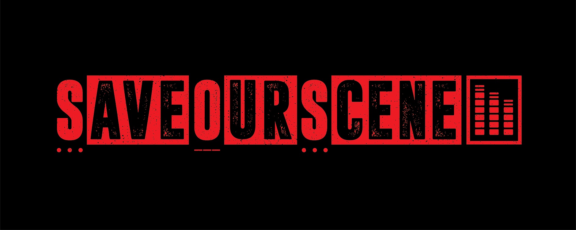 Save Our Scene logo